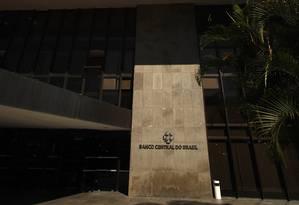 Sede do Banco Central, em Brasília Foto: Dado Galdieri / Bloomberg News/Arquivo