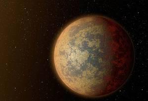 Planeta HD 219134b tem constituição basicamente rochosa, mas temperatura de 427 graus Celsius, por estar muito próximo de sua estrela Foto: AFP