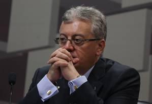 Ex-presidente da Petrobrás, Aldemir Bendine Foto: André Coelho / Agência O Globo