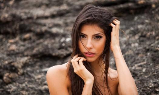 Rhaina Rodovalho conquistou o posto de Miss Universo Niterói 2015 no dia 24 de junho Foto: Bárbara Lopes / Agência O Globo