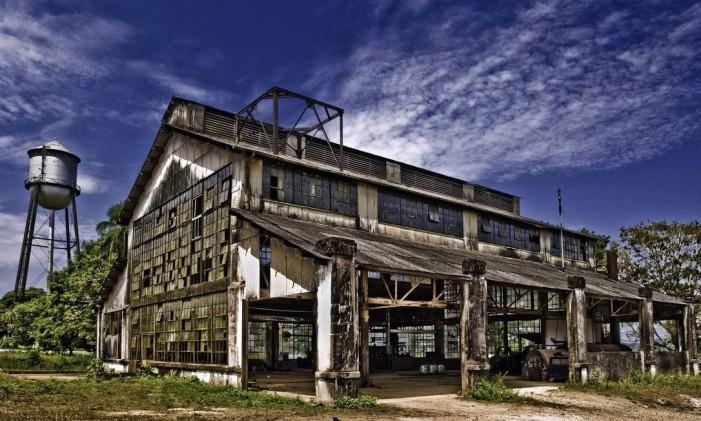 Galpão abandonado em Fordlândia Foto: Divulgação