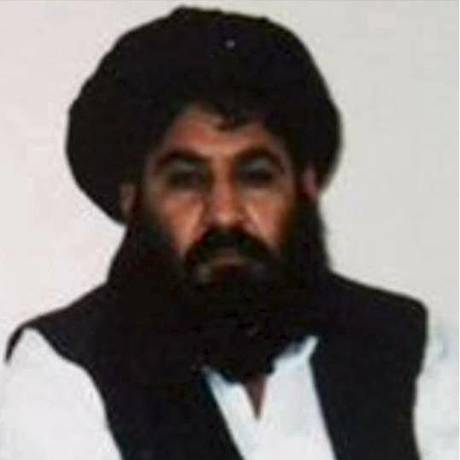 Mulá Akhtar Mohammad Mansour é visto em foto sem data divulgada pelo Talibã Foto: HANDOUT / REUTERS