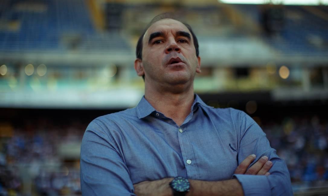Ricardo Gomes estreou neste sábado no Botafogo Daniel Marenco / Agência O Globo
