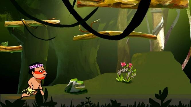 Cena do jogo 'Huni Kuin - Os caminhos da jiboia' Foto: Divulgação / Reprodução