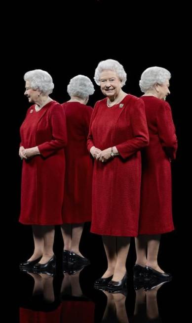 Os retratos integram a mostra 'Queen's People', que será inaugurada este mês no Eleven Fine Art, em Londres Hugo Rittson-Thomas / AP