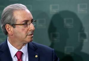 Eduardo Cunha, presidente da Câmara Foto: Ailton de Freitas/21-07-2015 / Agência O Globo