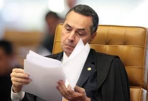 O ministro do STF, Luís Roberto Barroso Foto: Carlos Humberto 26/02/2014