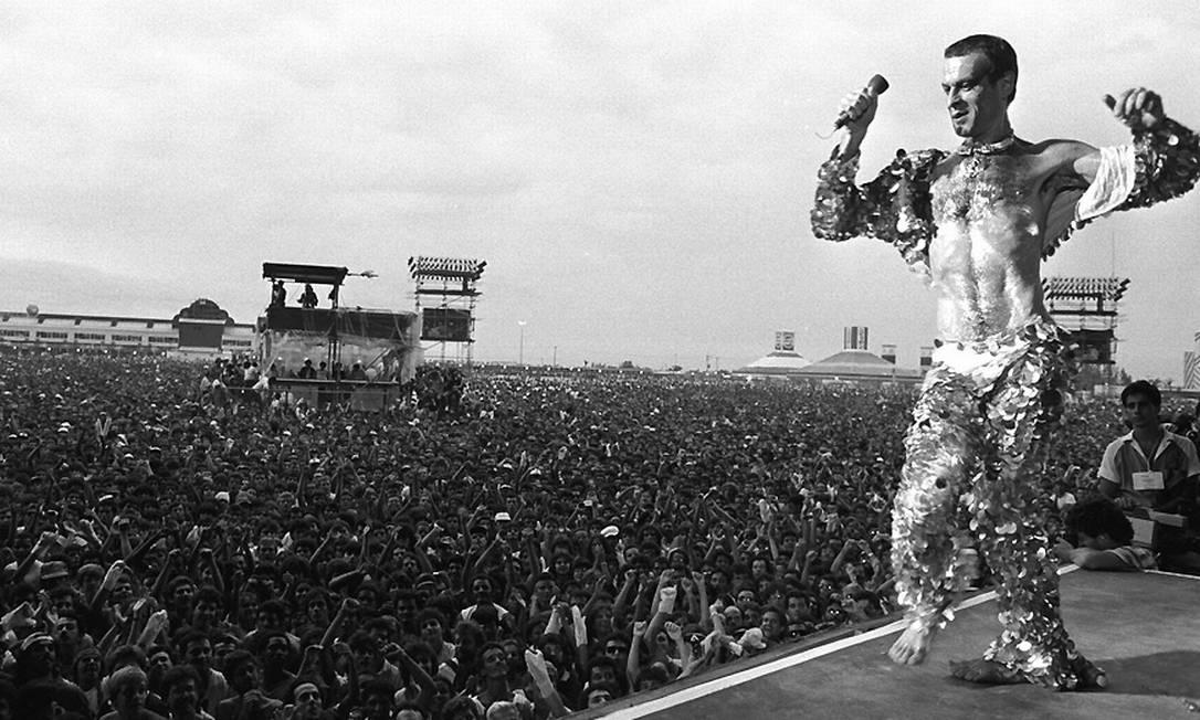 Momentos marcantes do Rock in Rio em 1985 - Jornal O Globo