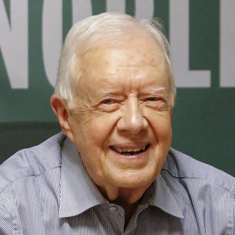 Jimmy Carter lança livro novo em evento em julho Foto: KENA BETANCUR / AFP