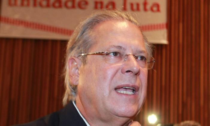Dirceu Foto: Ailton de Freitas / Agência O Globo