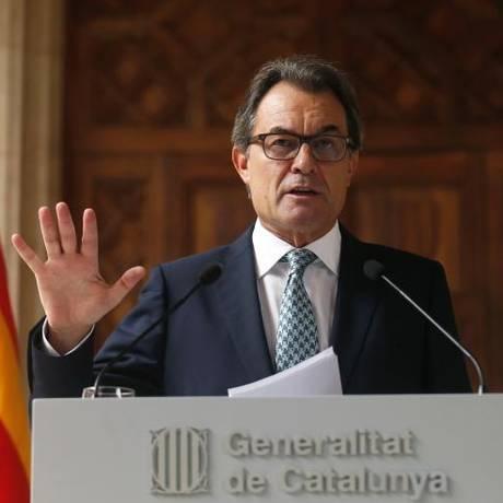 Artur Mas insinuou que eleições serão chave para plebiscito Foto: Albert Gea / Reuters