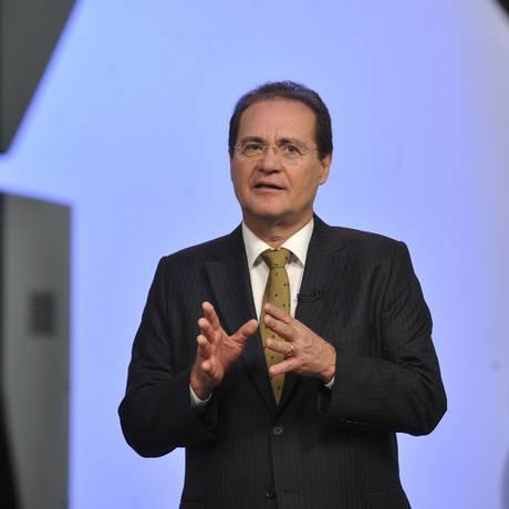 O presidente do Senado, Renan Calheiros Foto: Jane de Araújo / Agência Senado