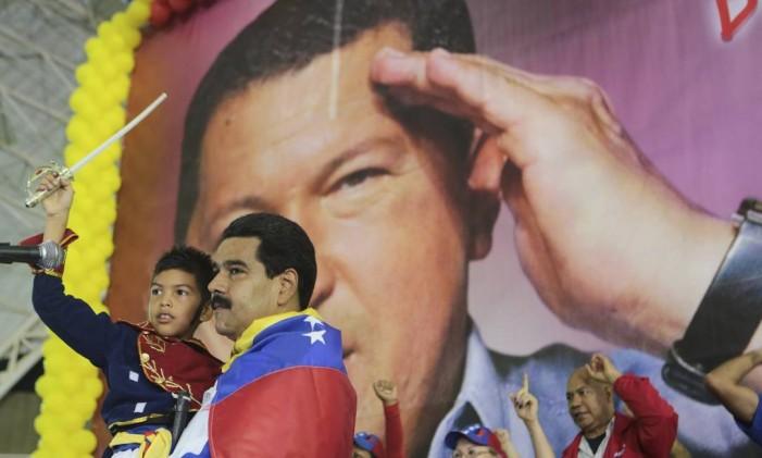 Movimento chavista segue legado Foto: HANDOUT / REUTERS