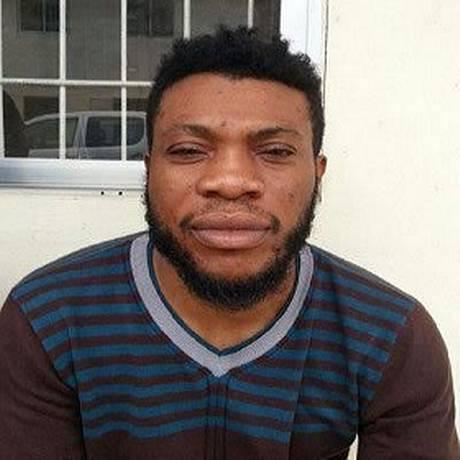 Atravessador foi identificado como Okechukwu Kingsley Ajaero Foto: Reprodução