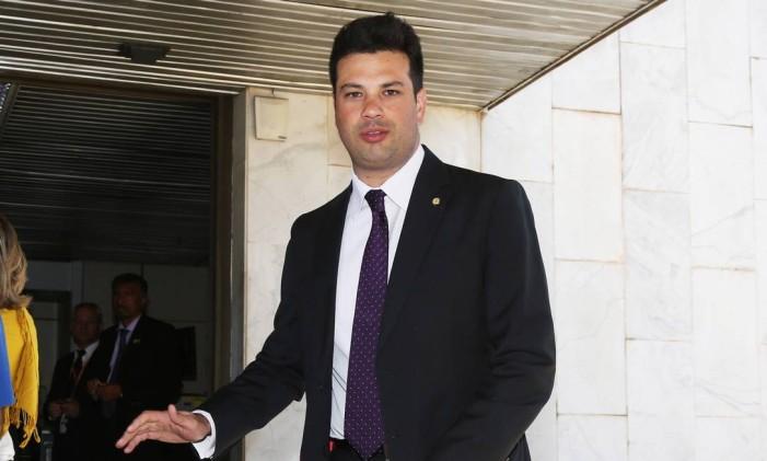 O líder do PMDB na Câmara, deputado Leonardo Picciani (PMDB-RJ) Foto: Ailton de Freitas / Agência O Globo