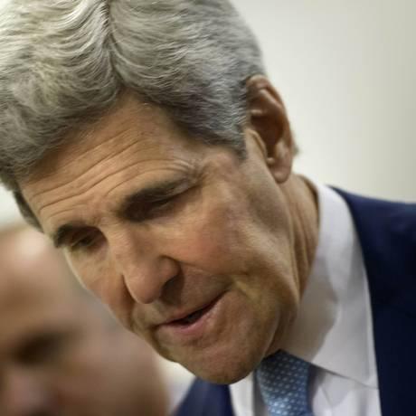 O secretário de Estado dos EUA, John Kerry, participa de reunião da Associação das Nações do Sudeste Asiático (Asean), em Putra World Trade Center, em Kuala Lumpur, na Malásia Foto: Brendan Smialowski / AP