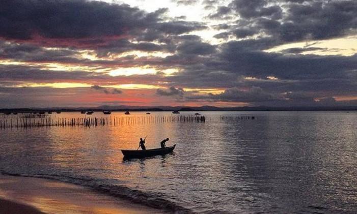 Pôr do Sol em Barra Grande, Bahia Foto: Instagram / @criswerebe