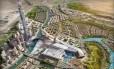 O projeto Meydan One, que será inaugurado em 2020, em Dubai