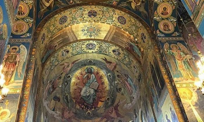 Catedral do Sangue Derramado, São Petersburgo Foto: Instagram / @periclesrosa