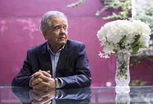 O cineasta Luiz Carlos Barreto entrou no radar da PF após receber dinheiro de empresa de Dirceu Foto: Daniela Dacorso / Agência O Globo