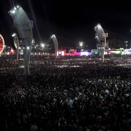 Rock in Rio disponibiliza novos ingressos a partir da próxima terça (11) Foto: Pedro Kirilos / Agência O Globo
