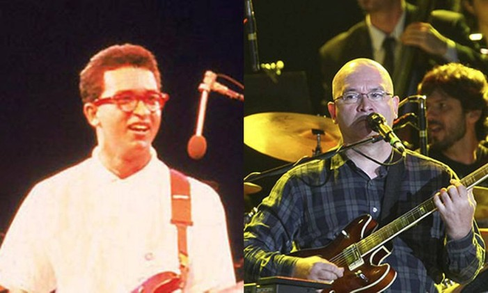 Herbert Vianna trocou de estilo de óculos desde 1985 Foto: Reprodução / Montagem