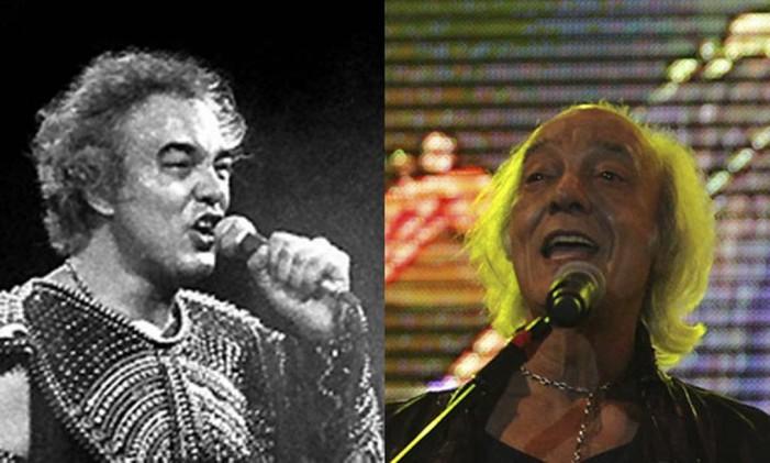 Erasmo tocou em 1985 e em 2011 Foto: Reprodução / Montagem