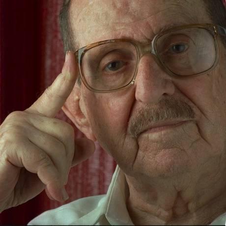 O historiador Nelson Werneck Sodré Foto: Arquivo/Marizilda Cruppe/29-9-1998