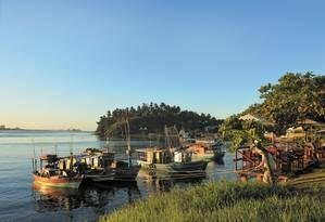Fim de tarde no Rio Cachoeira, em Ilhéus Foto: O Globo / Natasha Mazzacaro