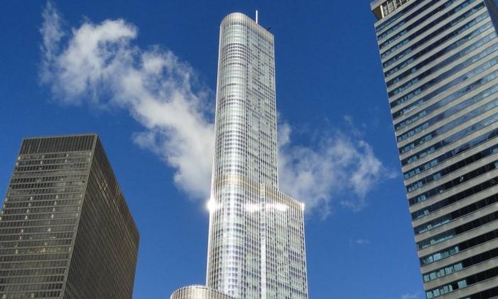 Trump International Tower, em Chicago Foto: Reprodução / Wikimedia Commons / Wikipedia