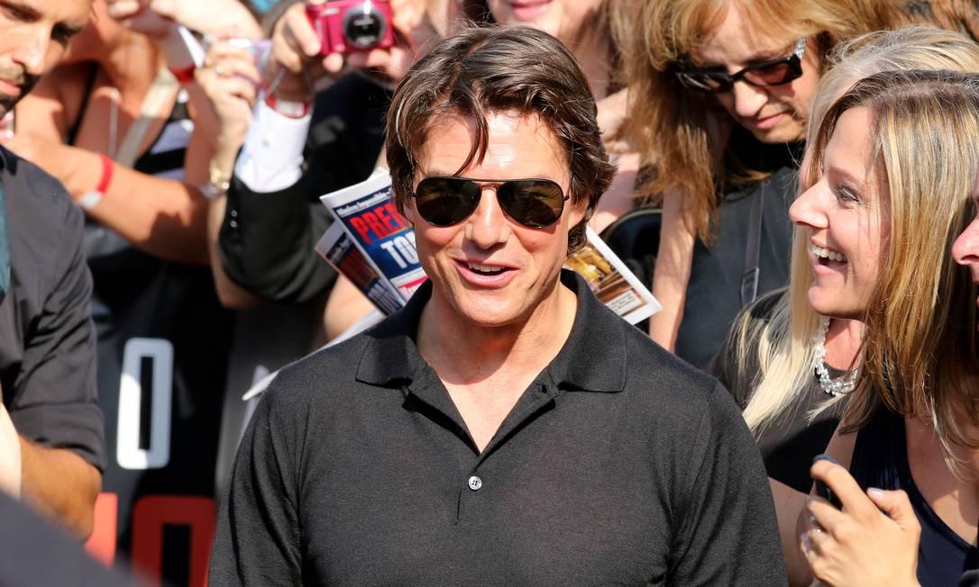 Tom Cruise estaria rumo ao altar com sua assistente de 22 anos. Estaria o ator, de 53, querendo ser pai novamente? Ronald Zak / AP