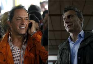 Scioli e Macri: hora da verdade Foto: Reuters