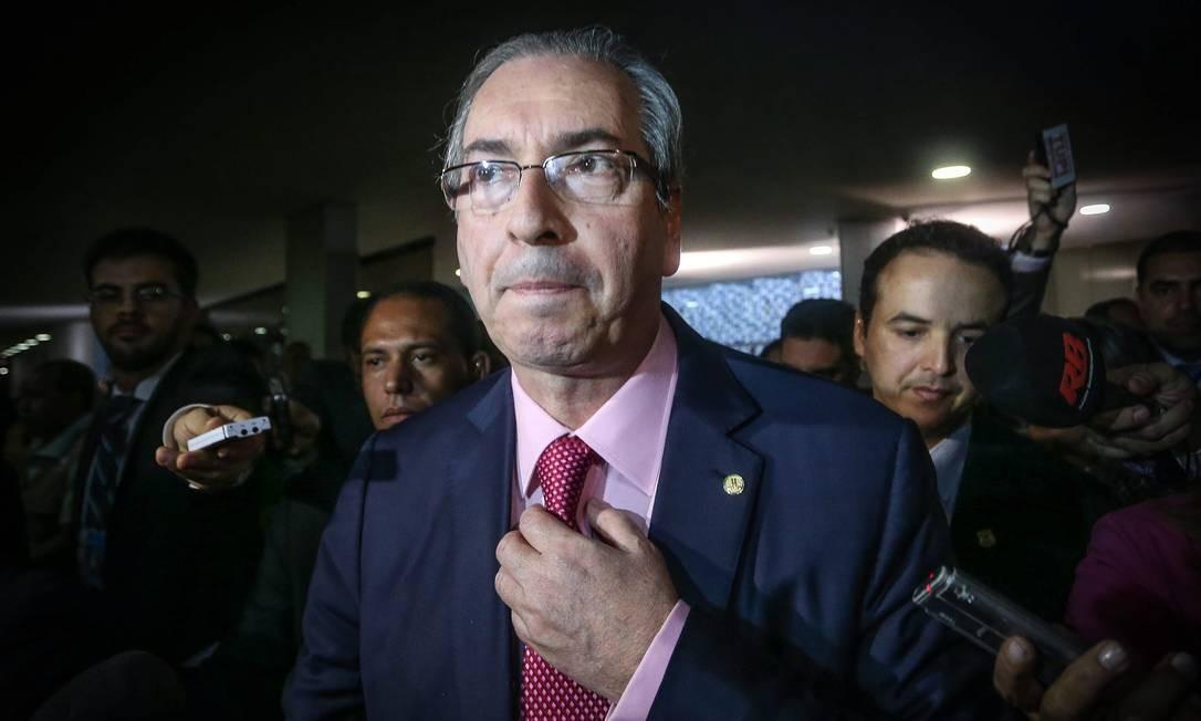 Câmara pede ao STF para anular provas contra Cunha