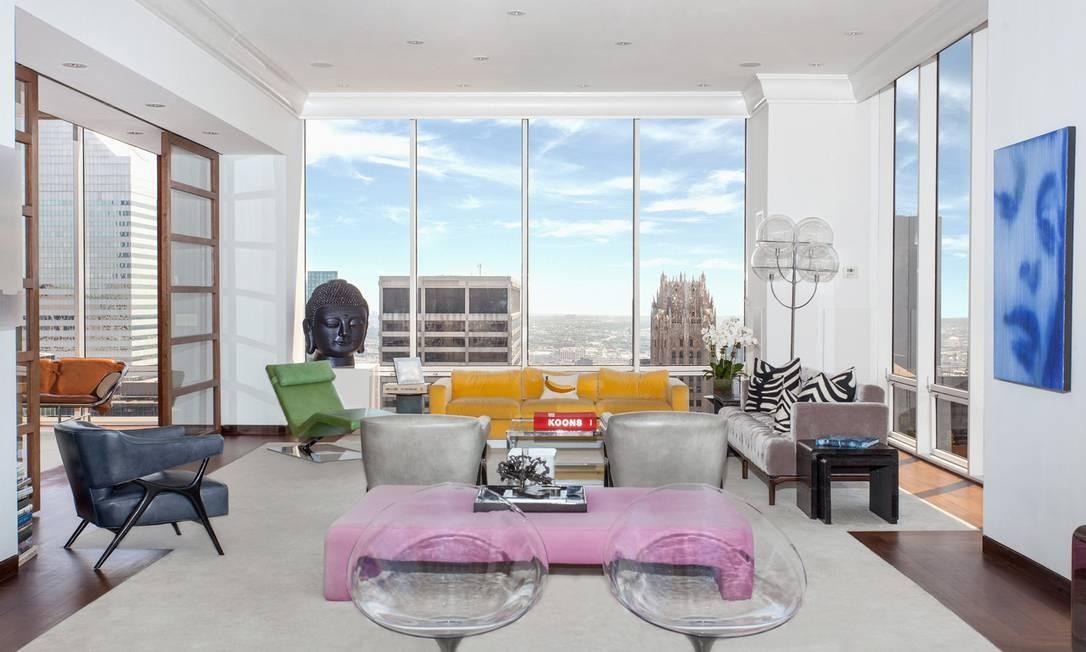 O apartamento tem quase 900m2 e é alugado desde 2010 Foto: Divulgação / Brown Harris Stevens