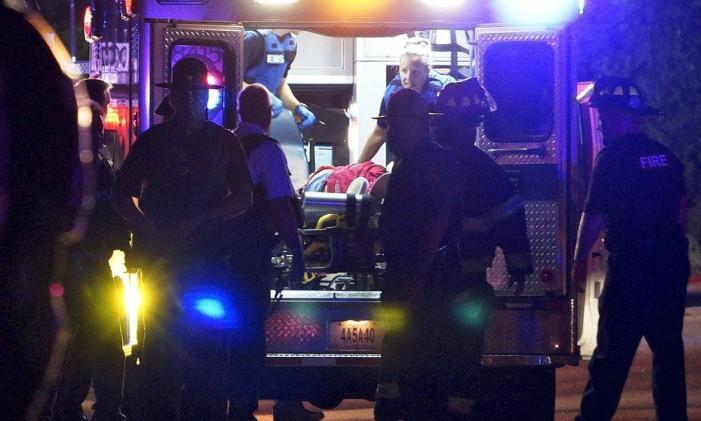 Tyrone foi levado ao hospital local Foto: Reuters
