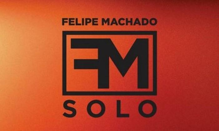 Capa do disco de Felipe Machado, ex-Viper Foto: Divulgação