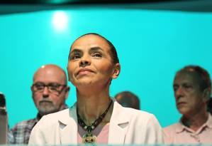 A ex-senadora Marina Silva Foto: Marcos Alves (12/10/2014) / Agência O Globo