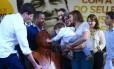 Família de Eduardo Campos participa de homenagem ao ex-governador de Pernambuco