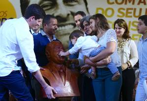 Família de Eduardo Campos participa de homenagem ao ex-governador de Pernambuco Foto: Fotos: Wagner Ramos / Sei