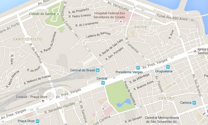 Mapa Foto: Reprodução