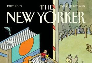 Leitores enviam semanalmente 5 mil piadas para a redação da 'New Yorker' Foto: REPRODUÇÃO