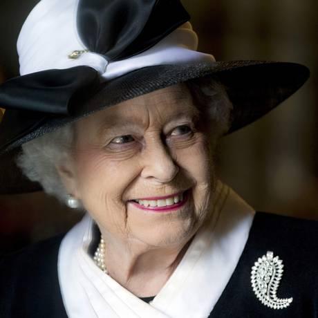 Rainha Elizabeth é um dos alvos dos jihadistas do Estado Islâmico nos planos dos ataques terroristas para as comemorações de sábado em Londres Foto: POOL / REUTERS