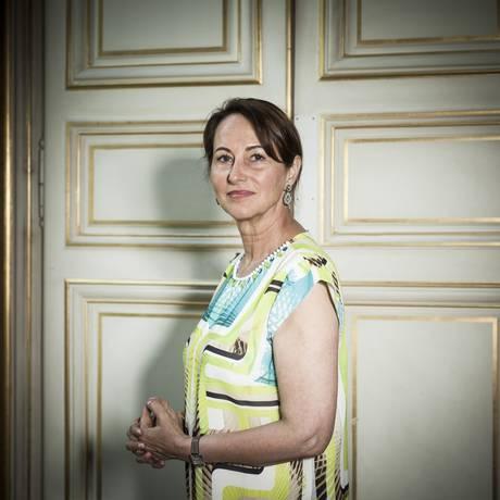 Aos 61 anos, Ségolène Royal mantém ambição Foto: ED ALCOCK / NYT