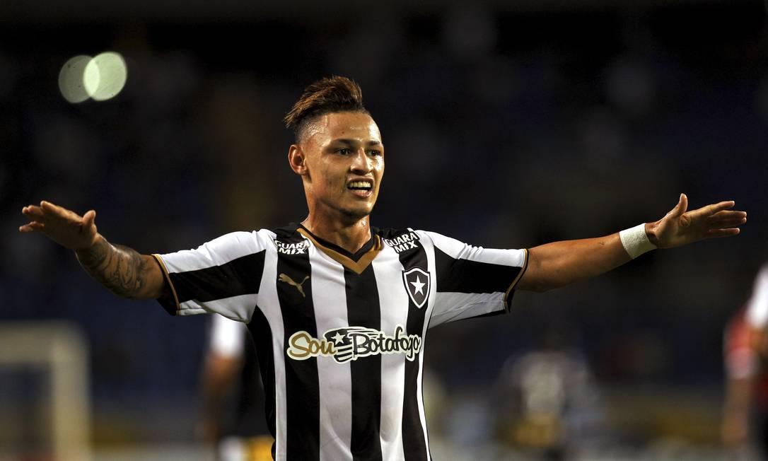 A alegria de Neilton com seu gol Cezar Loureiro / Agência O Globo