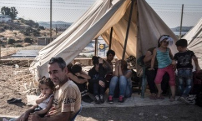 Mais de cem mil refugiados nas ilhas gregas Foto: Reuters