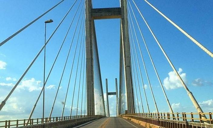 Ponte da Alça Viária do Pará, sobre o Rio Moju Foto: @marianaespindola / Instagram