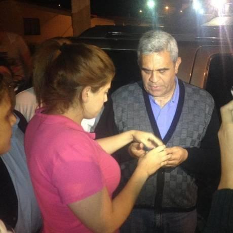 Raúl Isaías Baduel sai da prisão de Ramo Verde depois de ser concedido a ele a prisão domiciliar Foto: Reprodução