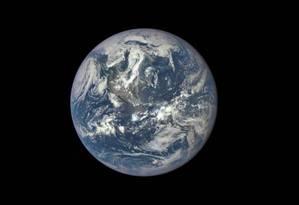 Demanda global de bens e serviços precisa de 1,6 planeta Foto: NASA