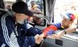 Fidel Castro em uma das suas últimas aparições públicas, em março deste ano