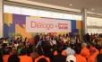 Dilma Rousseff participa de evento com movimentos sociais